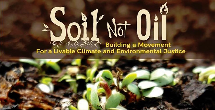 Soil Not Oil at The Farmer & The Cook
